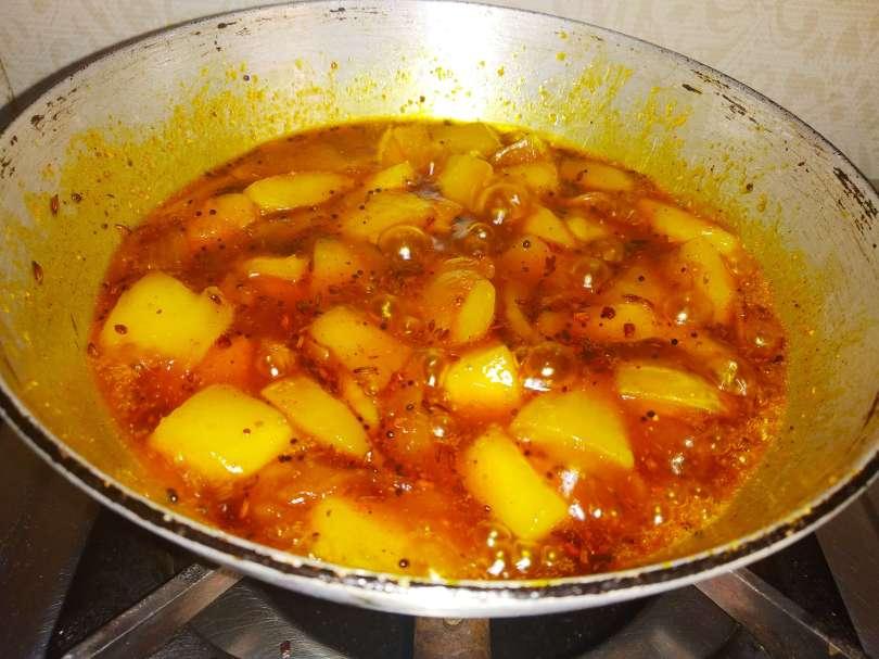 Quick Mango achaar